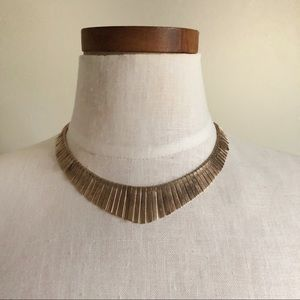 Free People gold necklace NWT